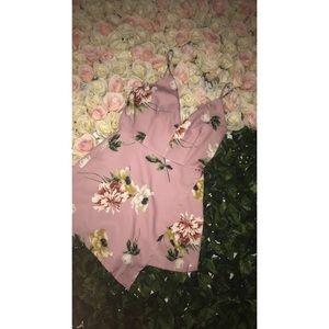 Cute Floral Romper